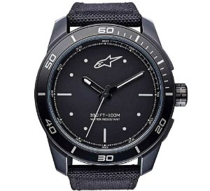 Relógio Alpinestars Tech 3H - Preto/Branco