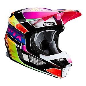 Capacete FOX V1 MVRS 2020 Yorr - Multi color
