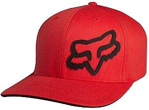 Boné Fox Signature Flexfit 16 - Vermelho/Preto