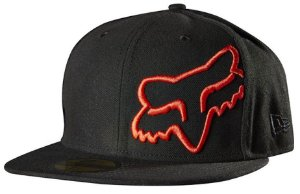 Boné Fox Thunderous 59 Fifty - Preto