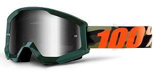 Óculos 100% Strata Huntsitan - Verde Camuflado
