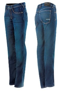Calça Jeans Alpinestars Angeles Denim - Azul claro