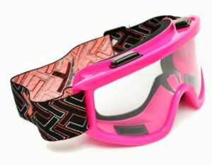 Óculos Motocross Mx Mattos Pink Rosa Cross Trilha