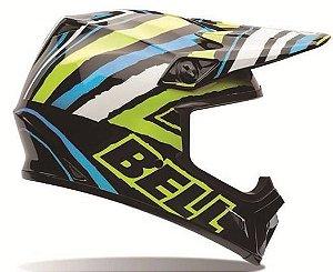 Capacete Cross Bell Mx-9 Scrub Psycho - Motocross
