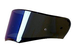 Viseira Espelhada Blue Azul Capacete Ls2 Ff390 Breaker orig