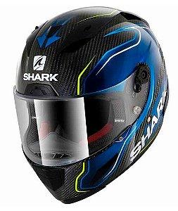 Capacete Shark Race-R Pro Guintoli - Preto/Azul
