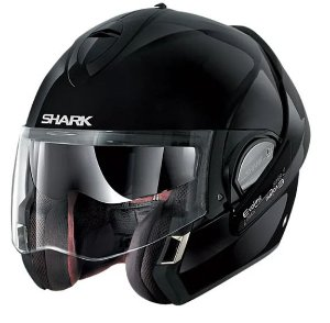 Capacete SHARK Evoline S3 Fusion - Preto Brilho