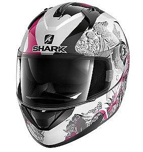 Capacete Shark Ridill Spring - Branco/Rosa