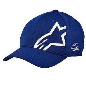 Boné Alpinestars Corp Shift Sonic Tech - Azul/Branco