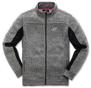 Jaqueta Alpinestars Lux Sweater - Preto/Cinza Claro