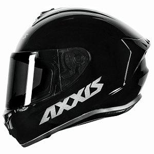 Capacete Axxis Draken Monocolor - Preto Brilho