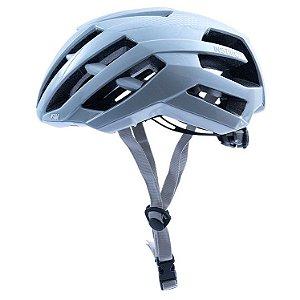 Capacete Asw Bike Instinct Prata Bicicleta Montain Bike