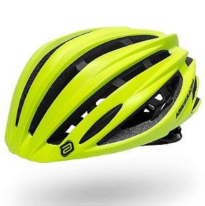 Capacete Asw Bike Elite Amarelo Fluor Bicicleta Montain Bike