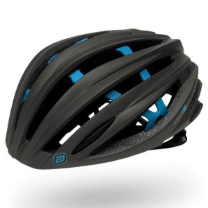 Capacete Asw Bike Elite Grafite Azul Bicicleta Montain Bike