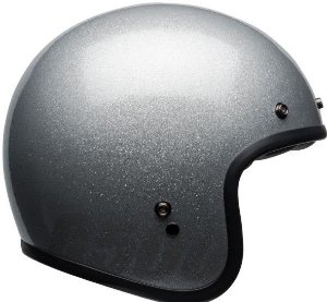 Capacete Bell Custom 500 Gloss Flake Prata