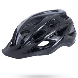 Capacete Asw Bike Fun Preto Bicicleta Montain Bike