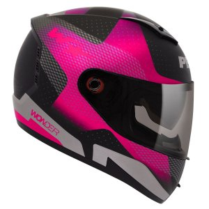 Capacete Peels Icon Wonder Black Preto Rosa