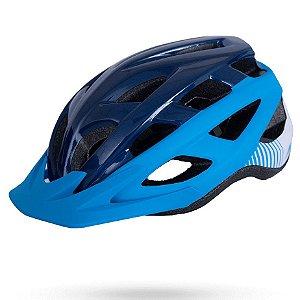 Capacete Asw Bike Fun Azul Marinho Bicicleta Montain Bike