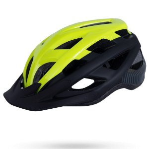 Capacete Asw Bike Fun Amarelo Preto Bicicleta Montain Bike