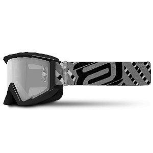 Óculos Asw A2 Vertigo Preto Cinza Cross Motocross Trilha