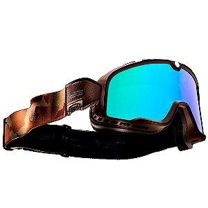 Óculos Para Capacete Custom 100% Barstow Pendleton Espelhado
