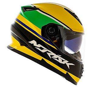 Capacete Norisk ff302 Champion Amarelo