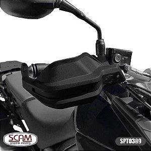Protetor De Mao Honda Bmw G650gs 2009+ Spto390 Scam