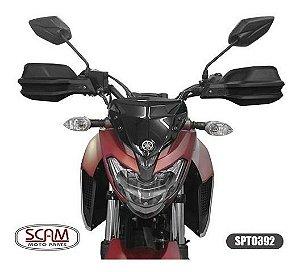 Protetor De Mao Yamaha Fazer 250 2006+ Spto392 Scam Fazer250