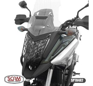 Protetor Farol Aço Carbono Honda Nc750x  2016+scam Spto482