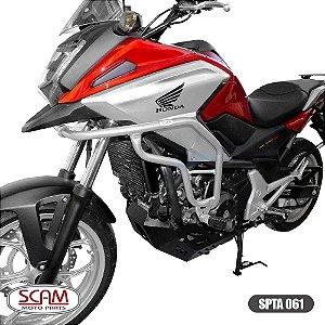 Protetor Motor Carenagem Nc700x Nc750x 2013+ Prata