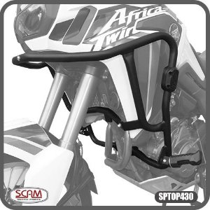 Africa Twin 2017+ Protetor Motor Carenagem Sptop430 Scam