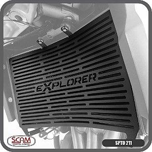 Protetor Radiador Tiger1200 Explorer 2012+ Spto211 Scam