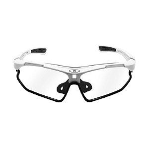 Oculos Bike Mattos Racing Vison Branco Lente Fotocromática