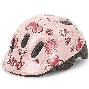 Capacete Bike Infantil Polisport Baby Birdy Rosa
