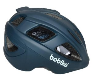 Capacete Bike Bobike Exclusive Deluxe Azul Marinho Bicicleta