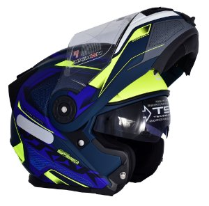 Capacete Robocop Norisk Ff345 Route Speedmax Fosco Azul