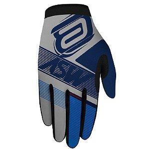 Luva Asw Race Edge Azul Branco Cross Motocross