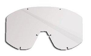 Lente Oculos Motocross Mattos Mx Cristal Transparente Cross