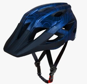 Capacete Asw Bike Accel Frontier Azul Bicicleta Montain Bike