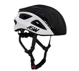 Capacete Asw Bike Impulse Preto Bicicleta Montain Bike
