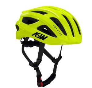 Capacete Asw Bike Impulse Amarelo Bicicleta Montain Bike