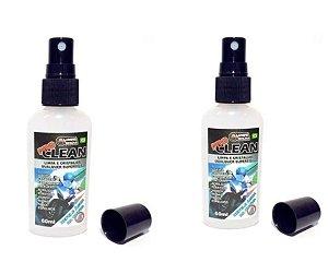 Kit 2 Cristalizador Viseira Limpeza Desembaçador Pro Clean