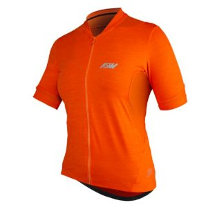 Camisa Ciclismo Bike Asw Essentials Laranja Feminina