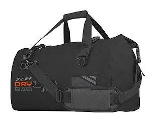 Mala Bolsa Impermeavel X11 Drybag 40 Litros Viagem Preto