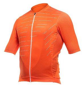 Camisa Ciclismo Bike Asw Endurance Code Laranja Branco