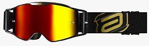 Óculos Asw A3 Class Preto Cross Motocross Trilha Enduro