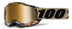 Óculos Cross Motocross 100% Accuri 2 Tarmac Camuflado