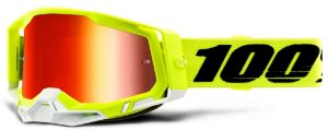 Óculos cross Motocross 100% Racecraft 2 Yellow Fluo