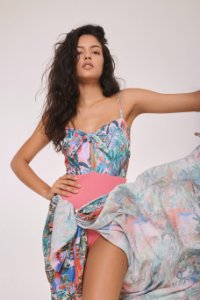 Body Feminino Laço Bali
