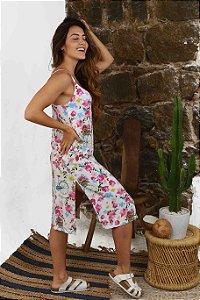 Vestido Midi Praia Cherry